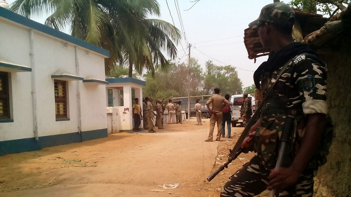 Peaceful Polls in TMC Stronghold Under the Vigil of Central Forces
