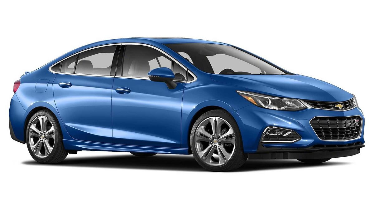 The updated Chevrolet Cruze that's coming to India in 2017. (Photo: Chevrolet)
