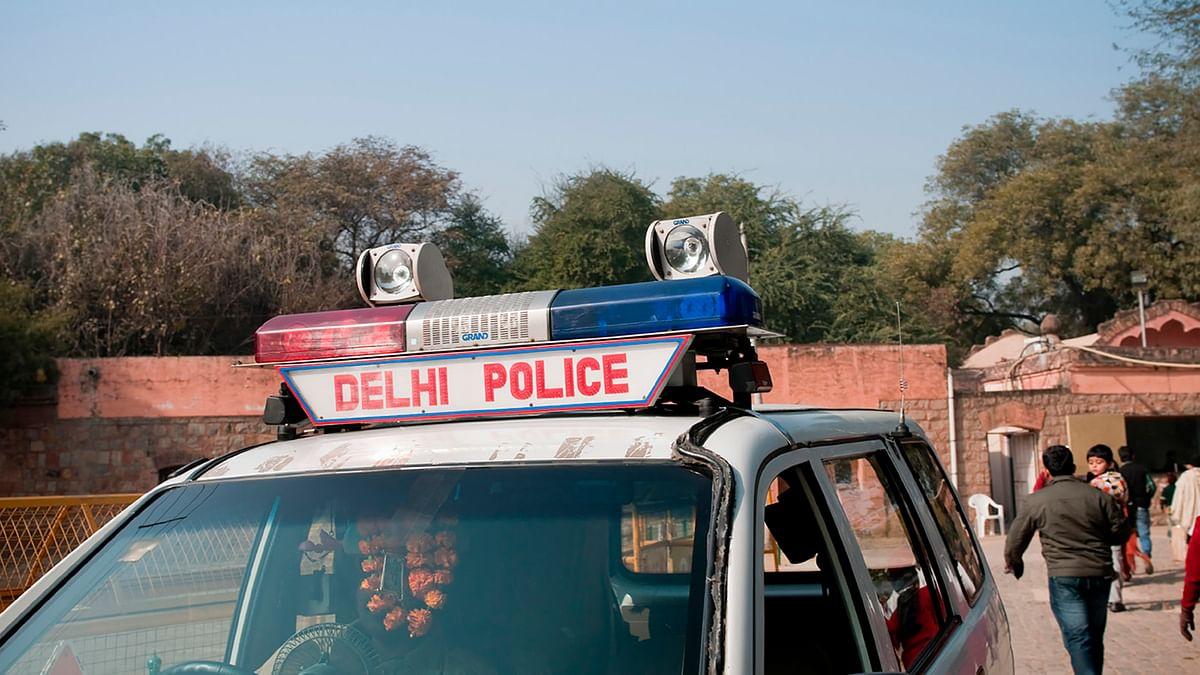 Delhi Police van parked on the road. (Photo: iStockphoto)