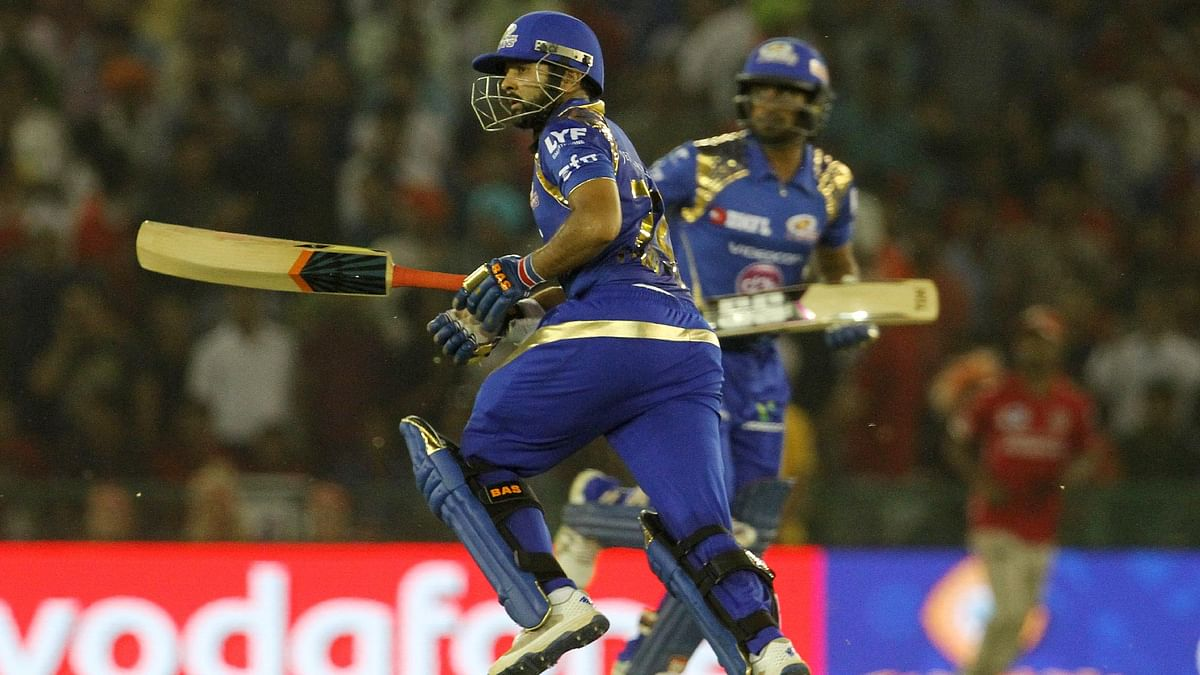 Parthiv Patel and Ambati Raydu's solid partnership helped Mumbai post a solid total (Photo: BCCI)