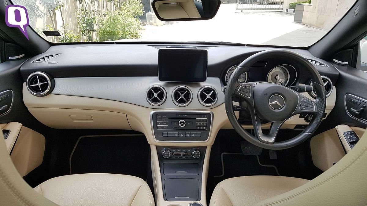 Mercedes-Benz CLA200 has a warm and welcoming cabin with attention to detail on the equipment inside. (Photo: <b>The Quint</b>)