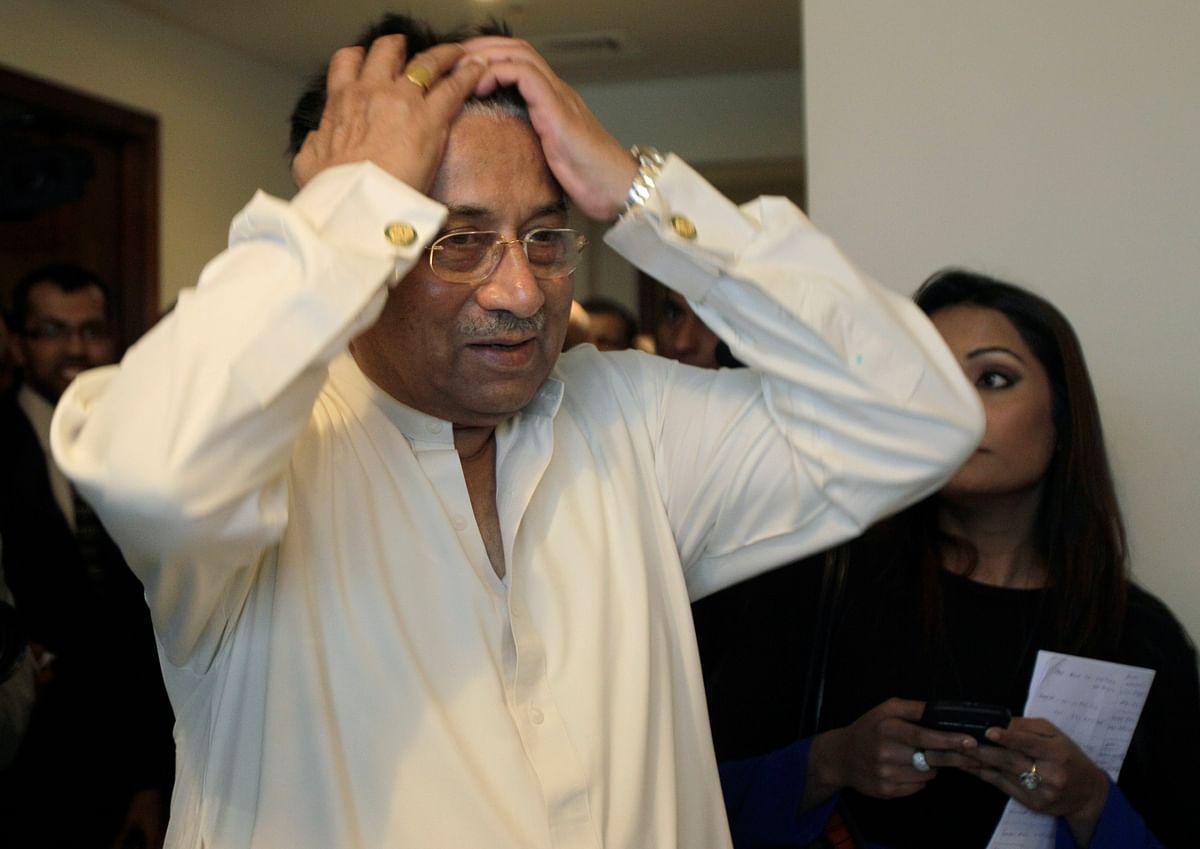 Former Pakistani President Pervez Musharraf. (Photo: AP)