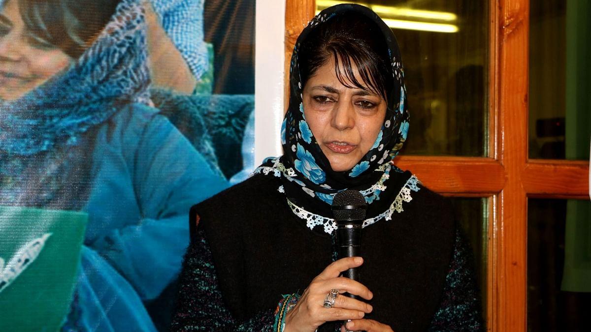 Jammu and Kashmir Chief Minister Mehbooba Mufti(Photo: IANS)