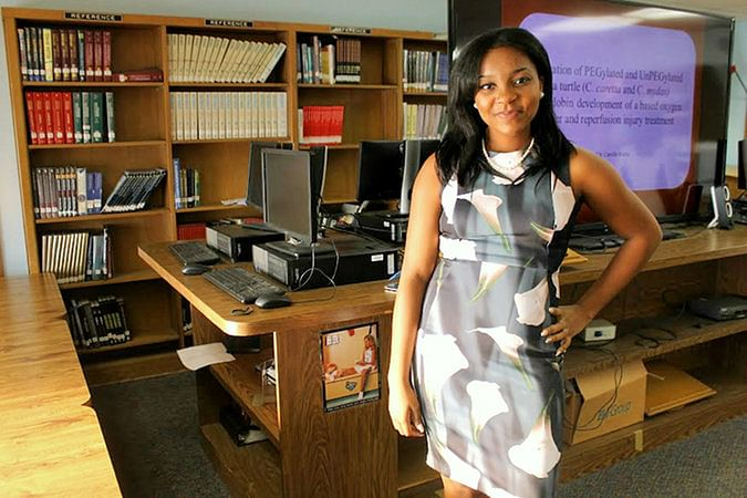 """Augusta Uwamanzu-Nna moved to the US at age 8. (Photo: <a href=""""http://www.nytimes.com/2016/04/07/nyregion/long-island-high-school-students-sweeps-ivy-league-universities.html?_r=0"""">nytimes.com</a>)"""