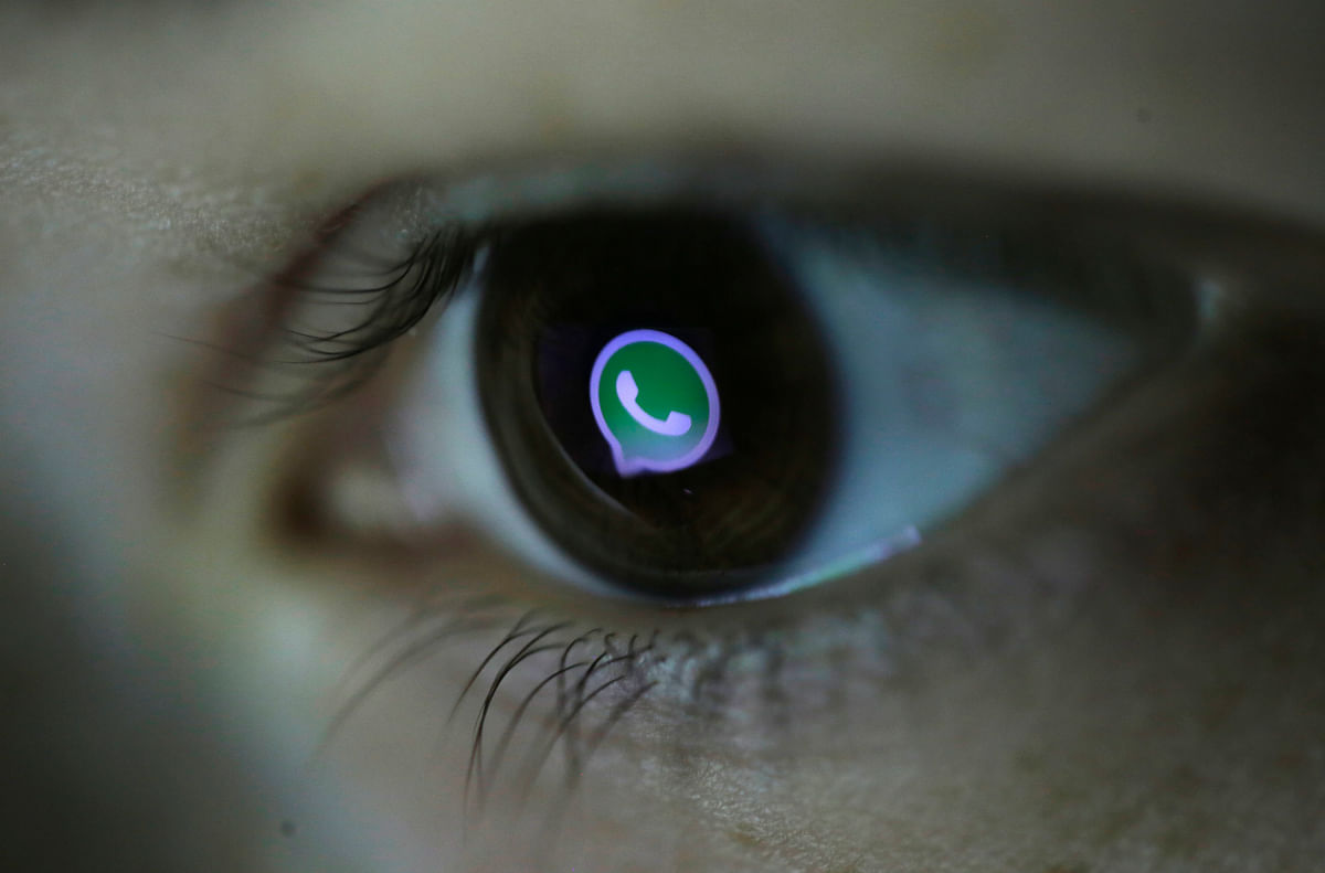 WhatsApp has over 800 million monthly active users. (Photo: Reuters)