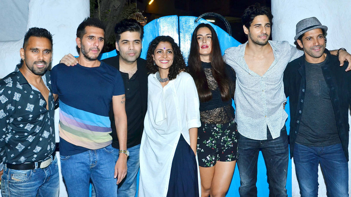 Team <i>Baar Baar Dekho </i>party hard (Photo: Yogen Shah)