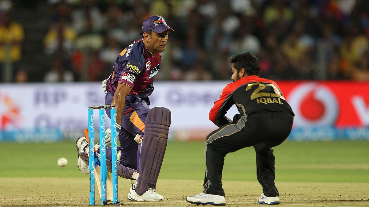 Dhoni played his regular galvanizing innings by taking quick singles and doubles. (Photo: BCCI)