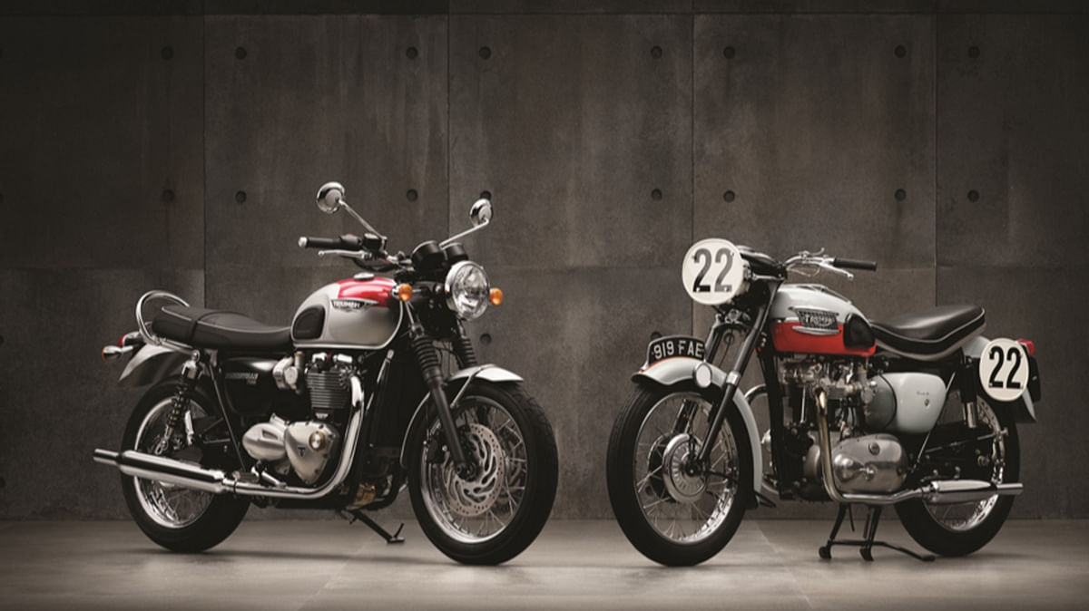"The Triumph T120 is based on the iconic 1959 Bonneville. (Photo Courtesy: <a href=""http://www.triumphmotorcycles.in/bikes/Classics/Bonneville/2016/Bonneville-T120"">Triumph Motorcycles</a>)"