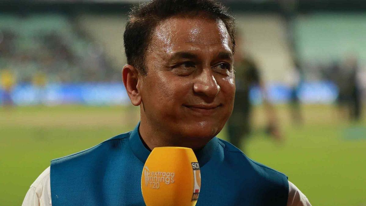 Sunil Gavaskar  during match 2 of the 2016 Indian Premier League. (Photo: BCCI)