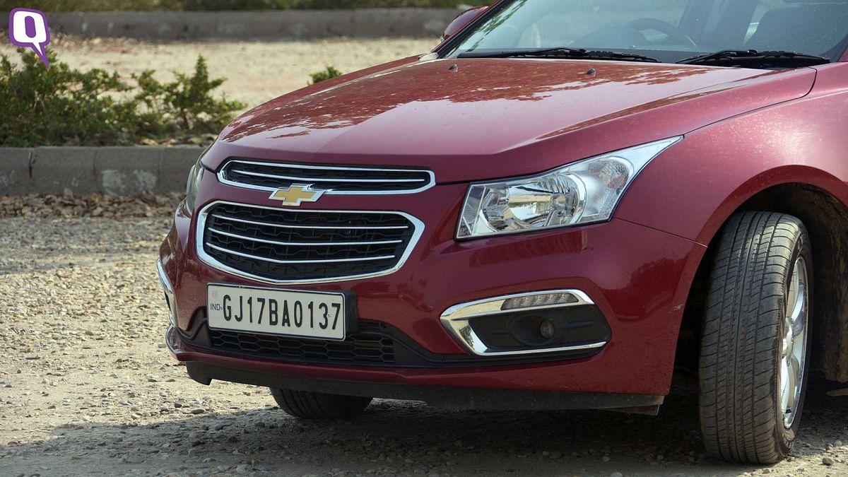 The Chevrolet Cruze has a fuel efficiency of 10.3 km/l. (Photo: <b>The Quint</b>)