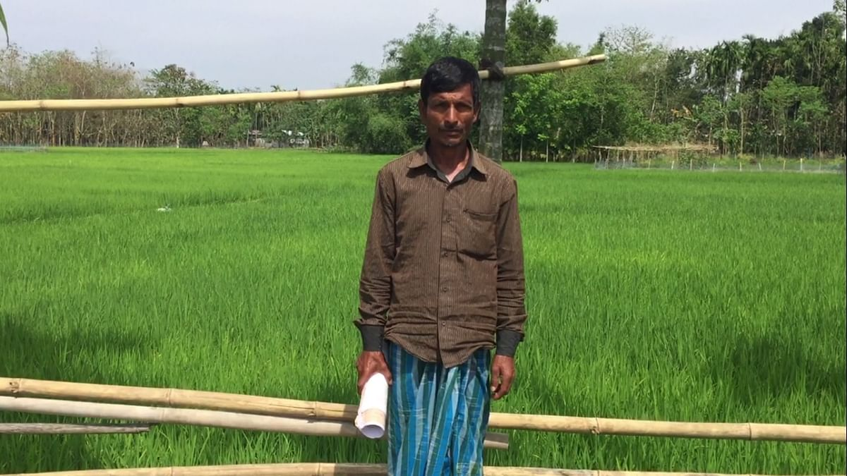 D – Voter Asgar Ali of Kokrajhar (Photo: Tridip K Mandal/ <b>The Quint</b>)