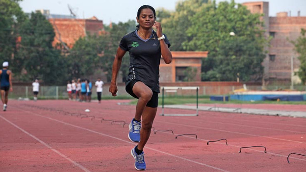 Dutee Chand missed the Olympics  berth by 0.01 sec as she clocked 11:33 sec.