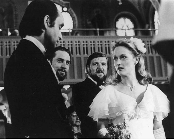 John Cazale, Meryl Streep and Robert De Niro in <i>The Deer Hunter </i>(Photo courtesy: Twitter)