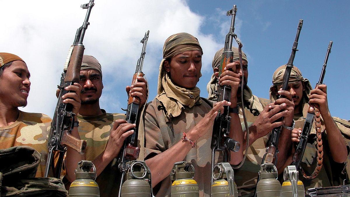 File photo of Lashkar-e-Taiba militants. (Photo: Reuters)