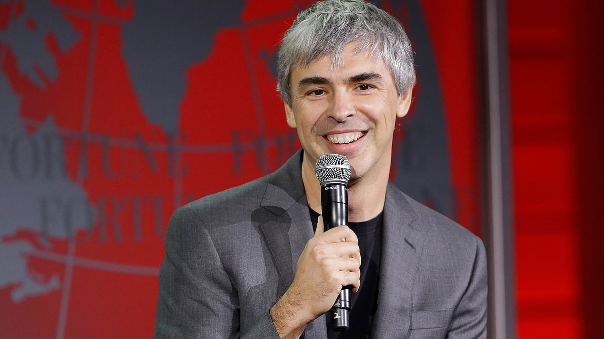 Alphabet CEO Larry Page speaks at the Fortune Global Forum in San Francisco. (File Photo: AP)