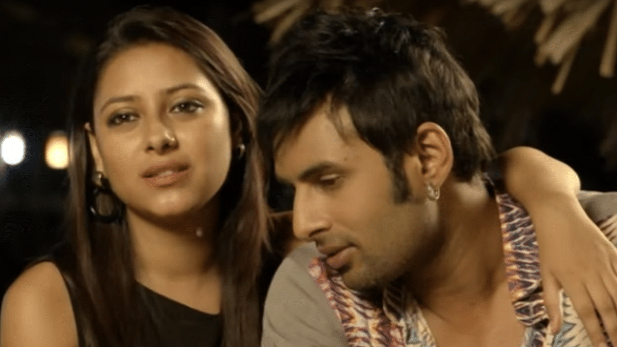 "Pratyusha and Rahul in the <i>Power Couple</i> reality show. (Photo Courtesy: <a href=""https://www.youtube.com/watch?v=JV63kz-PhSc"">YouTube</a>screengrab)"