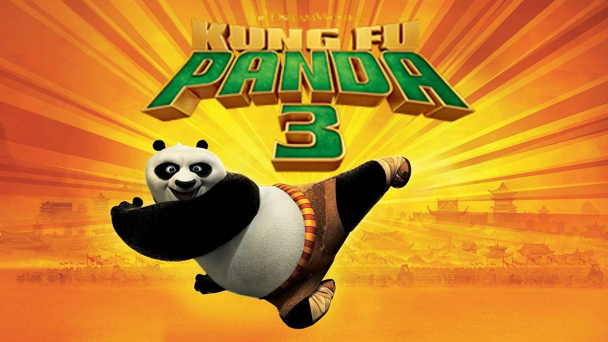 Movie poster of <i>Kung Fu Panda 3</i>
