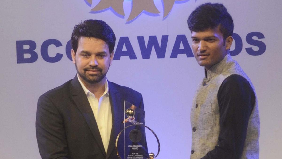 File photo of Anurag Thakur. (Photo: IANS)