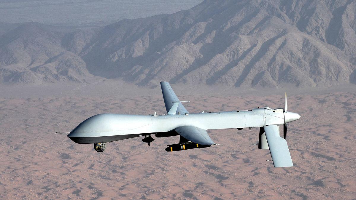"Representational image for Predator surveillance drones (Photo Courtesy: <a href=""https://en.wikipedia.org/wiki/General_Atomics_MQ-1_Predator"">Wikimedia</a>)"