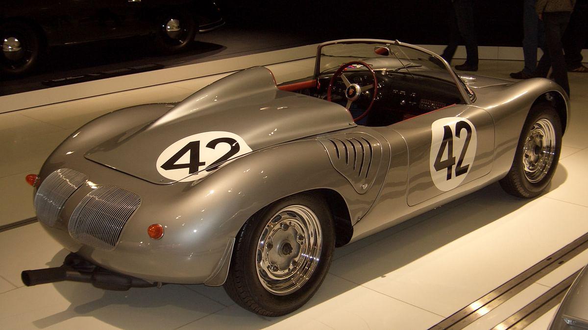 """The original Porsche 718. (Photo Courtesy: <a href=""""https://en.wikipedia.org/wiki/Porsche_718#/media/File:Porsche_718_RS_60_Spyder_1960_backright_2009-03-14_A.JPG"""">Wikipedia</a>)"""