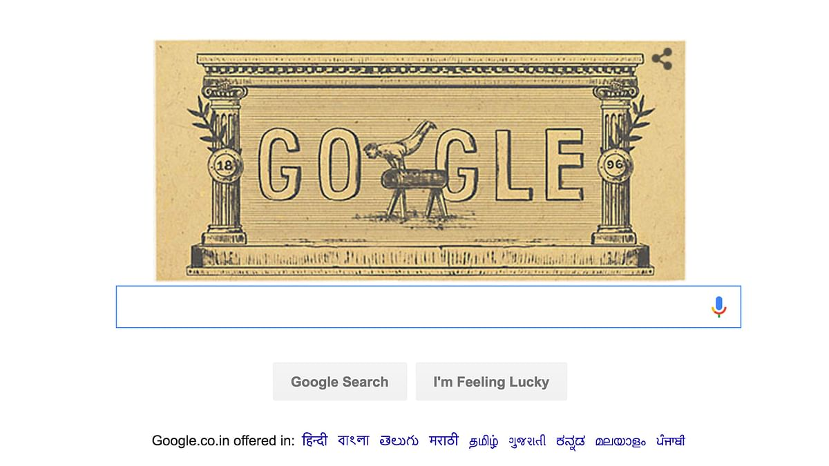 6 April 2016 marks the 120 anniversary of the first modern day olympics. (Photo Courtesy: Google screengrab)
