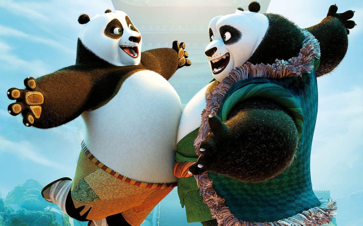 Movie still of <i>Kung Fu Panda 3</i>