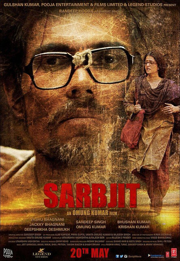 <i>Sarbjit: </i>Film Poster