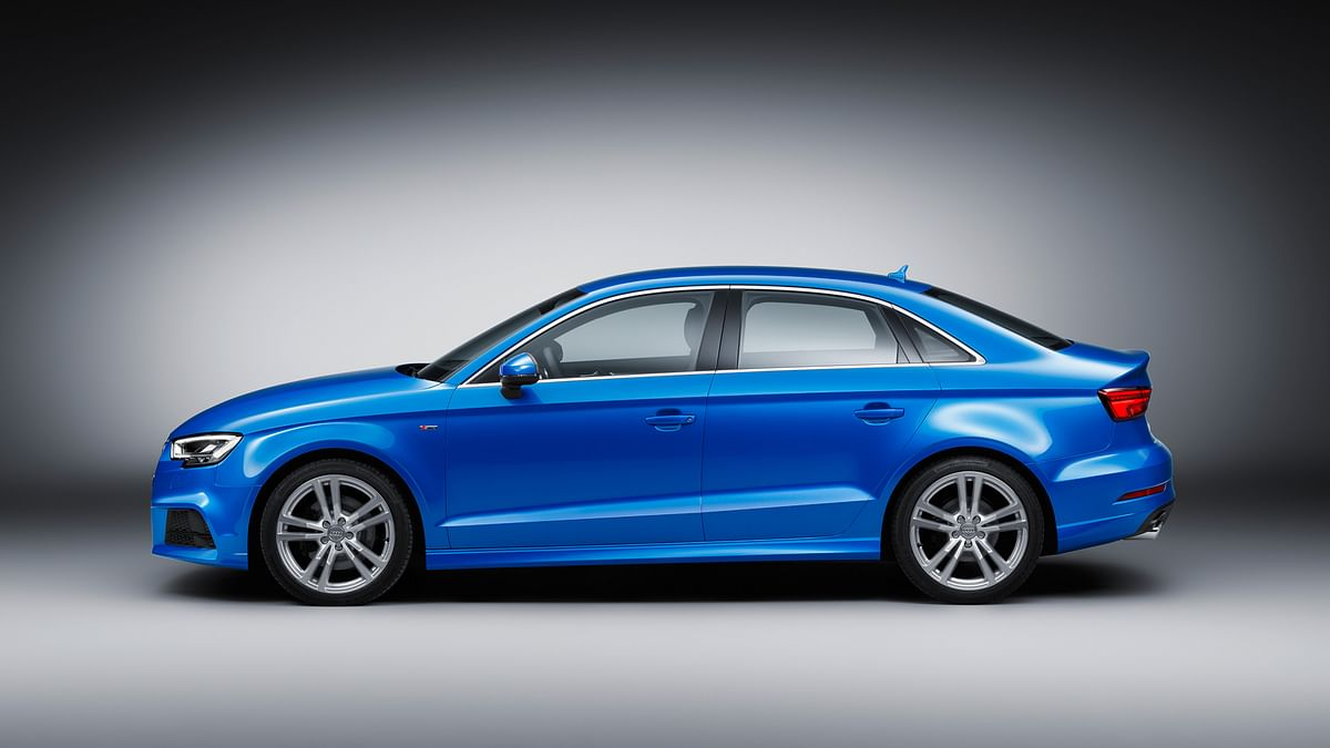 Audi A3 has much sharper lines on the sides as compared to the outgoing version. (Photo: Audi)