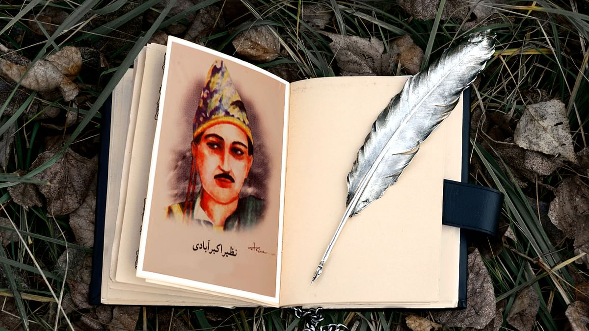 Nazeer Akbarabadi (1735-1830) was probably the first poet to write in 'Hindustani'.(Photo: The Quint)