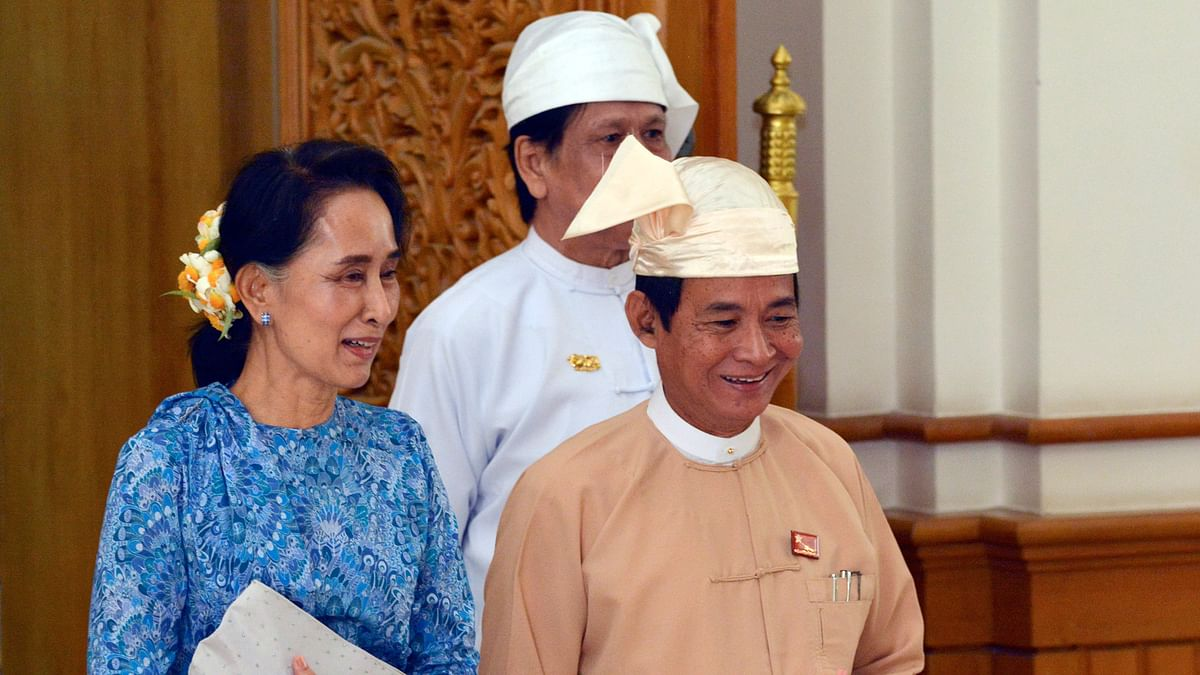 Bill Giving Suu Kyi Presidential Advisory Role Passed Amid Protest