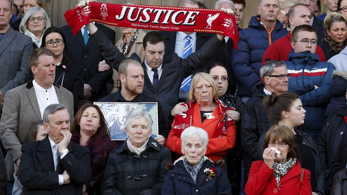 Jury Clears Match Commander in 1989 Hillsborough Soccer Disaster