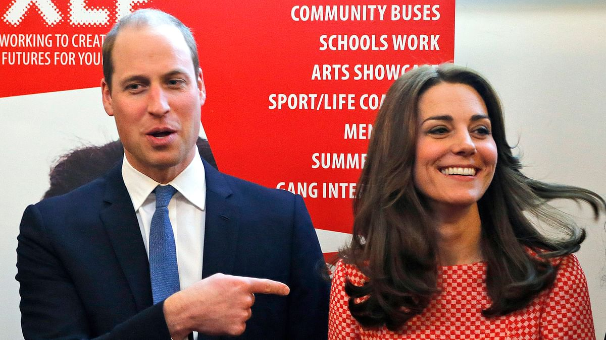 Prince William and Kate Duchess of Cambridge. (Photo: AP)