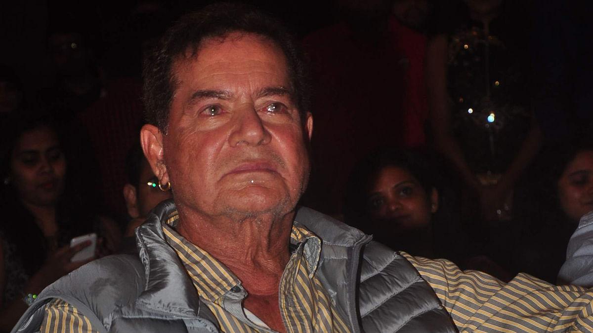 File photo of Salim Khan. (Photo: IANS)