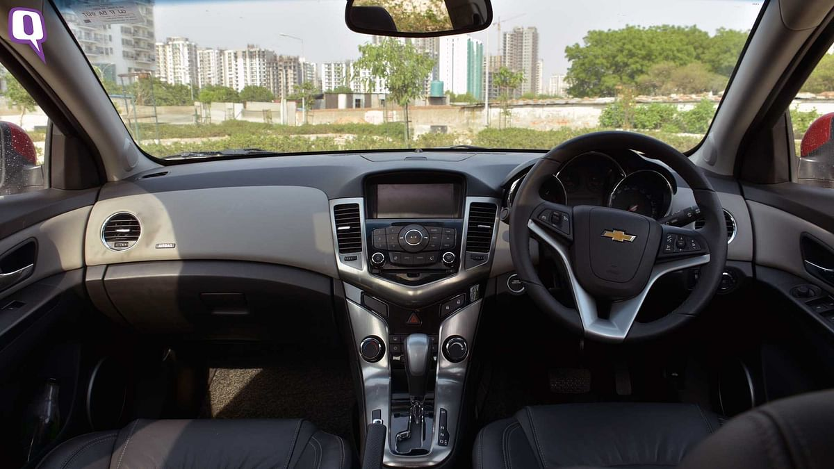 The Chevrolet Cruze infotainment system. (Photo: <b>The Quint</b>)