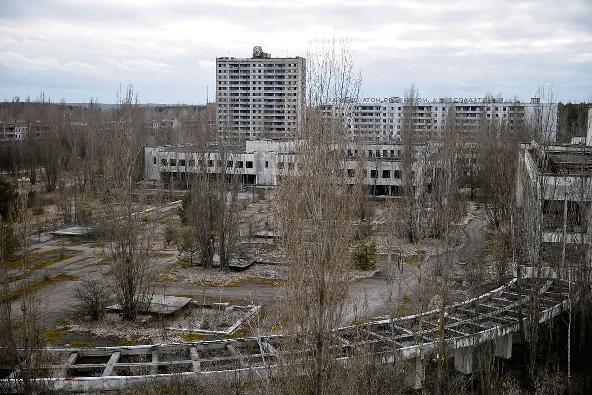 Once a symbol of USSR's control over nuclear energy, and its entry into the 'modern' world, the town of Pripyat was evacuated 36 hours after the explosion in the nuclear plant. The people were not told anything about it, and were simply made to leave instantly. (Photo: Reuters)