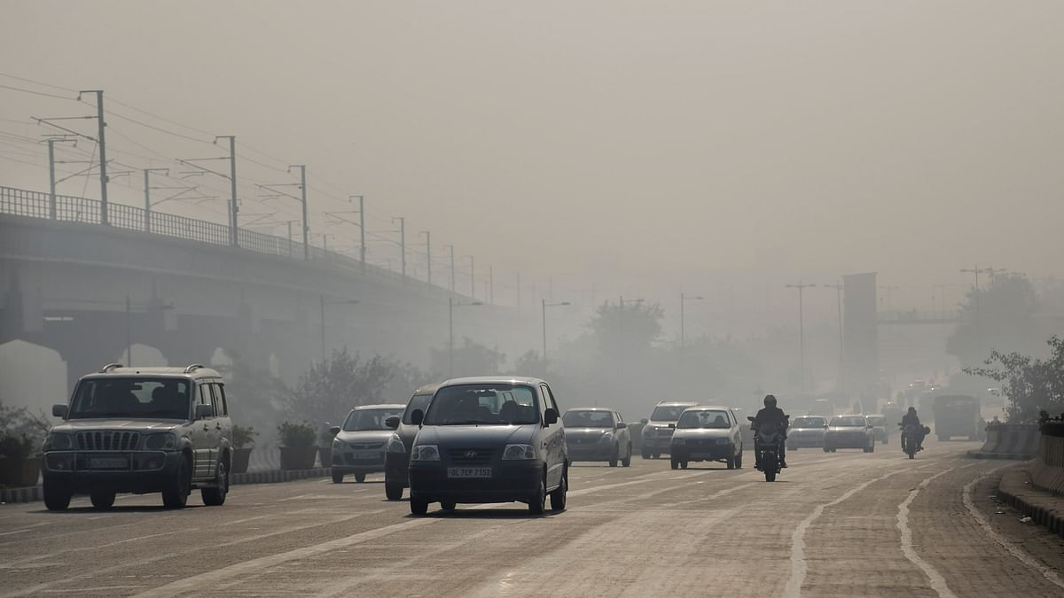 File photo of pollution on the roads of New Delhi. (Photo: AP)