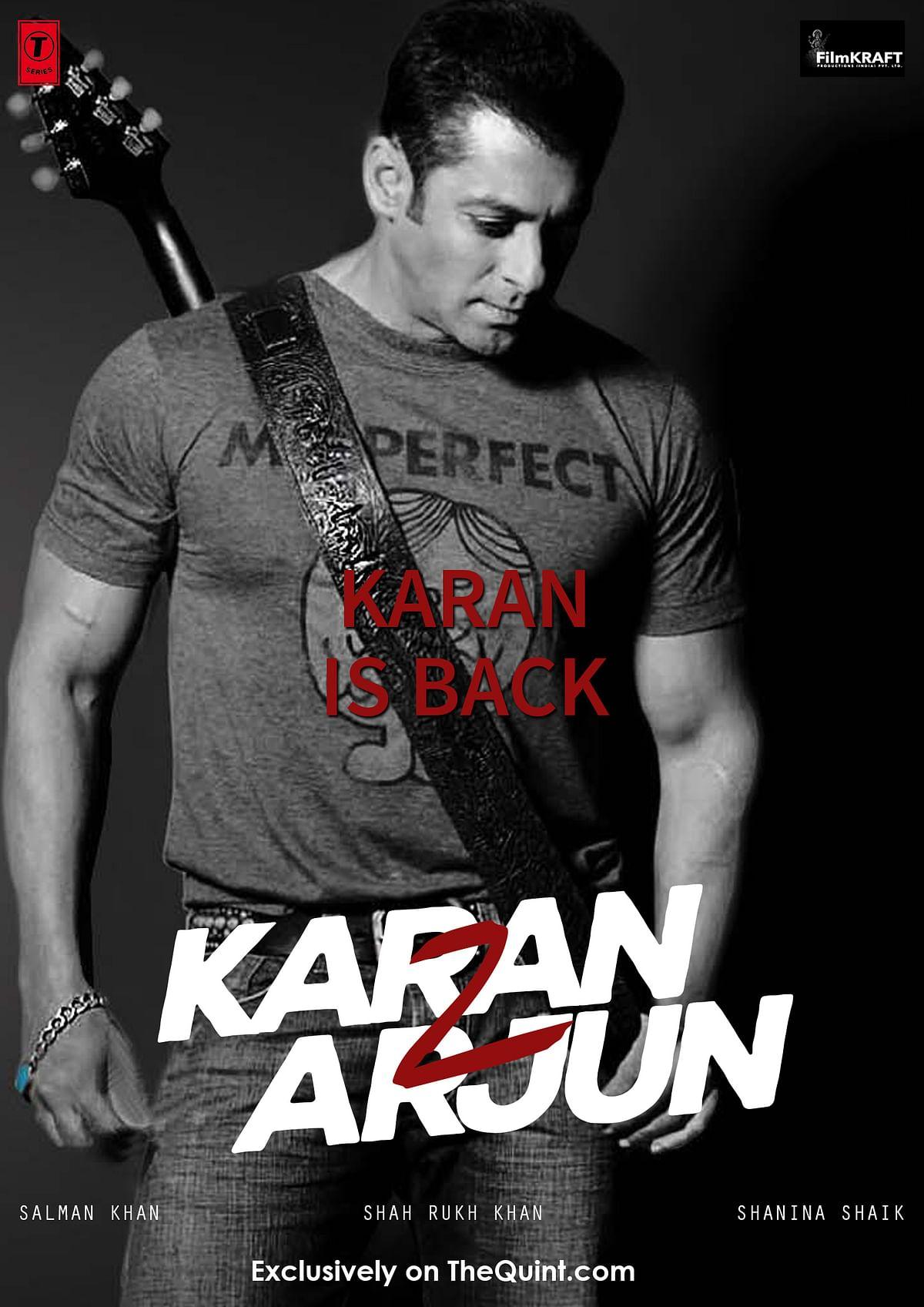 Karan in <i>Karan Arjun 2</i>&nbsp; (Design: Aaqib Raza Khan/ <b>The Quint</b>)