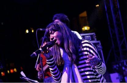 Shilpa Rao performing at the finale. (Photo: Spriha Srivastava)
