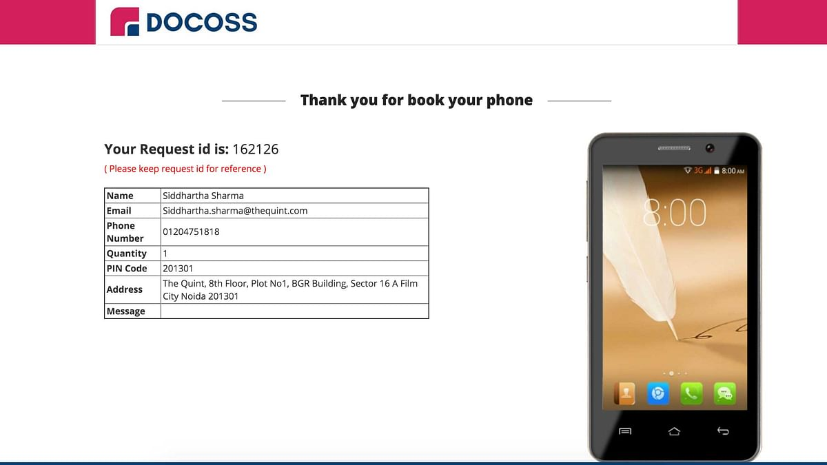We've booked one and now we are waiting for it to be a reality at Rs 888. (Photo Courtesy: Docoss)