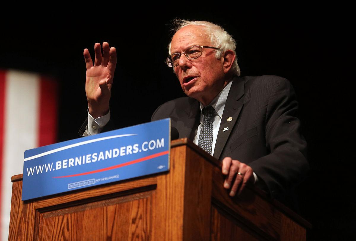 US senator Sanders from Vermont. (Photo: AP)