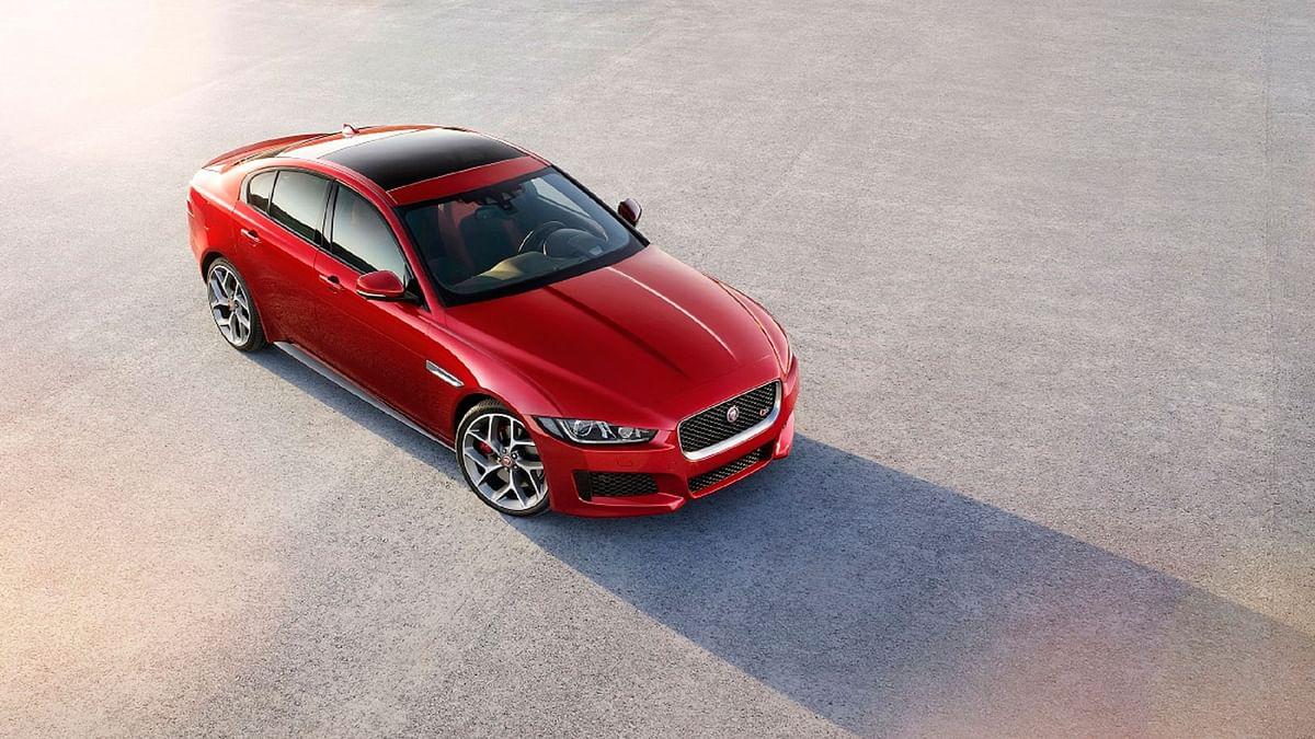 Jaguar XE is the company's entry level sedan.