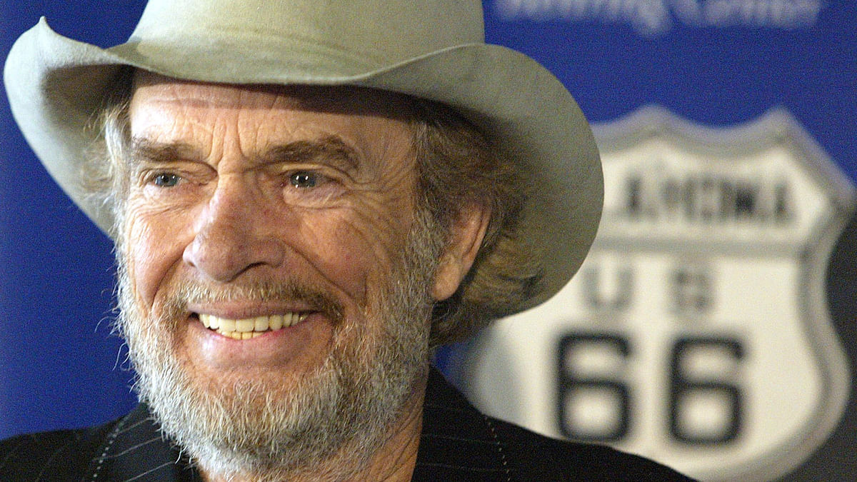 Haggard died of pneumonia, Wednesday, April 6, 2016, in Palo Cedro, California.(Photo: AP)