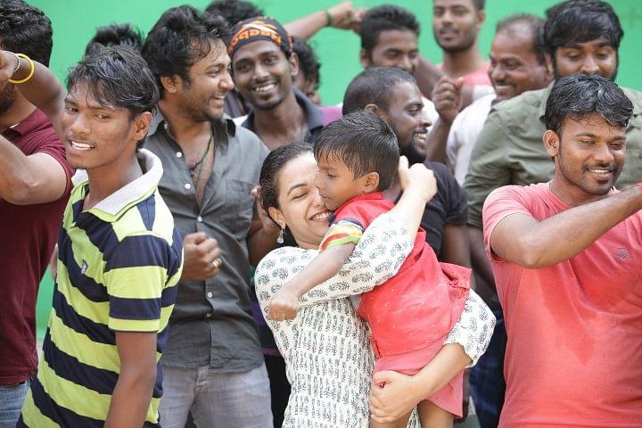 Actress Nithya Menen makes an appearance in 'Spirit of Chennai'
