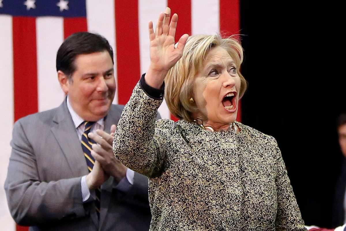Hillary Clinton during one of her campaigns. (Photo: AP)