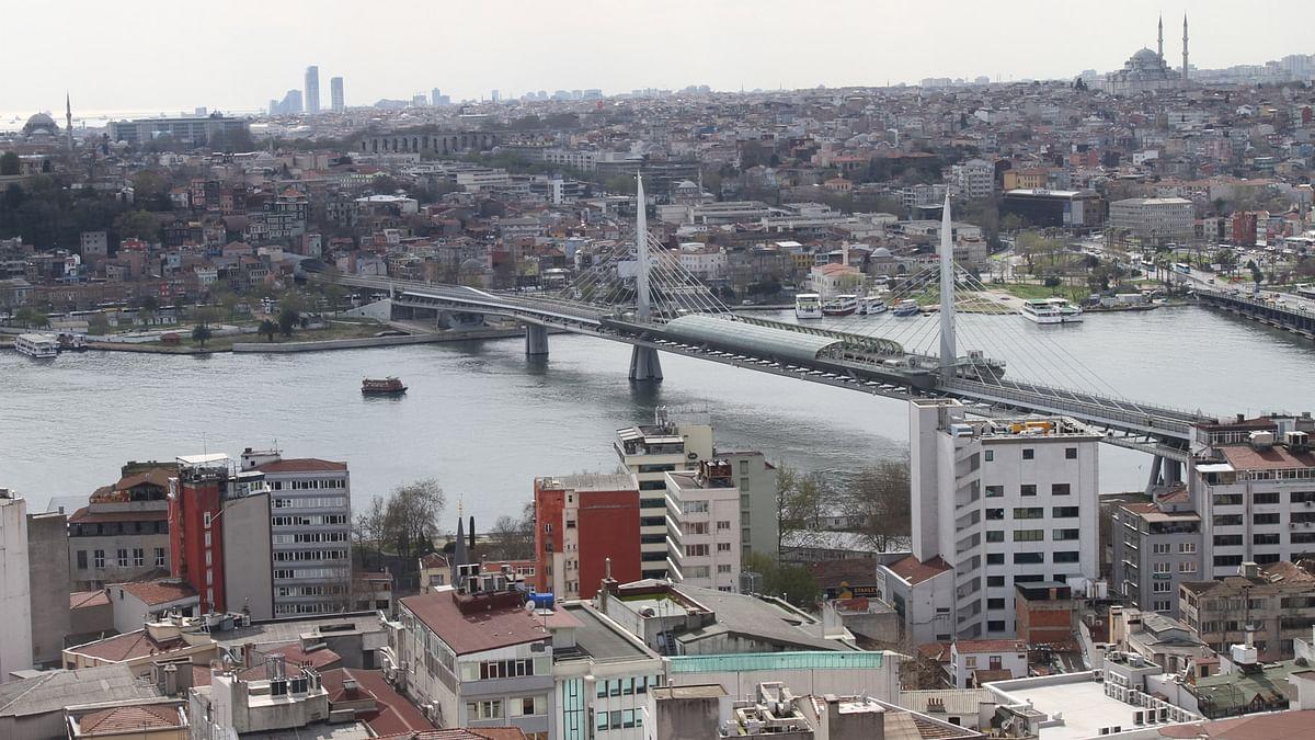 Bridge on Bosphorus. (Photo: Vivian Fernandes/ <b>The Quint</b>)