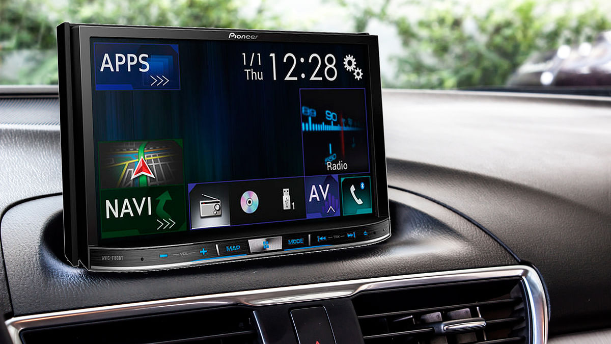 Pioneer has launched its latest infotainment system. (Photo altered by <b>The Quint</b>)