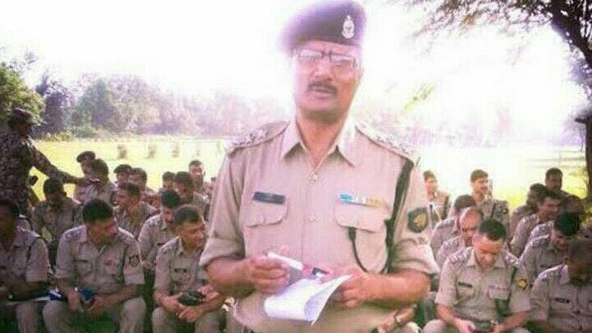 File photo of the NIA Officer, Tanzil Ahmad. (Photo: PTI)