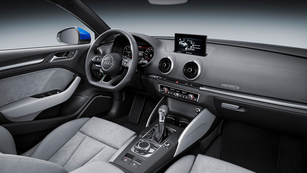 Audi A3 interiors. (Photo: Audi)