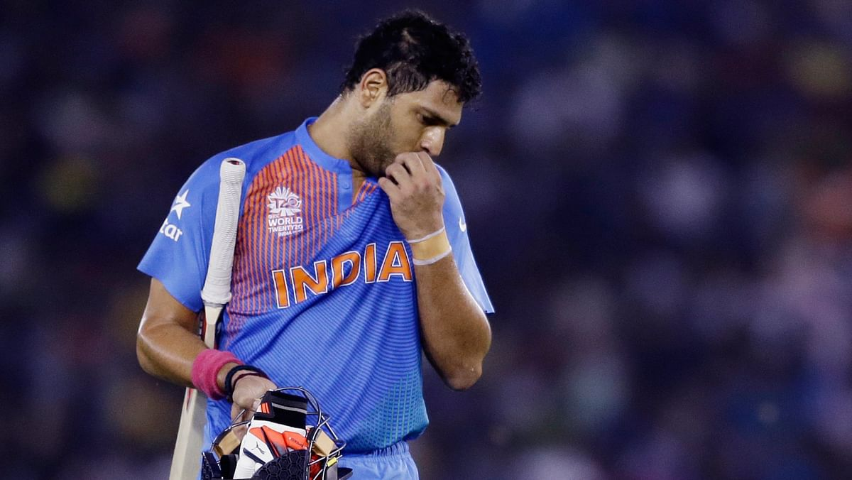 Yuvraj Singh. (Photo: AP)