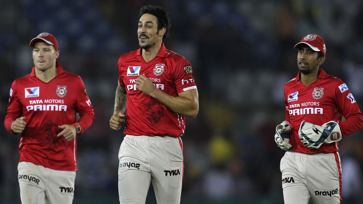 File of KXIP from their last match (Photo: IANS)